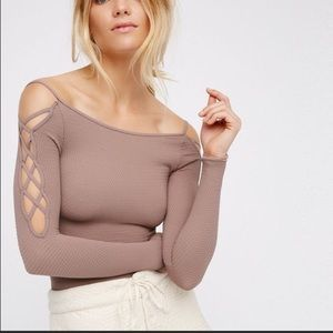 FreePeople long sleeve top. Only worn a few times